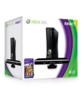 Xbox 360 4GB Console with Kinect Sensor and Kinect Adventures